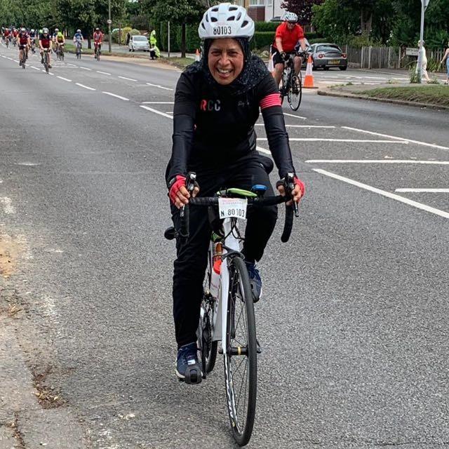 How I got into cycling – Fatim Panju