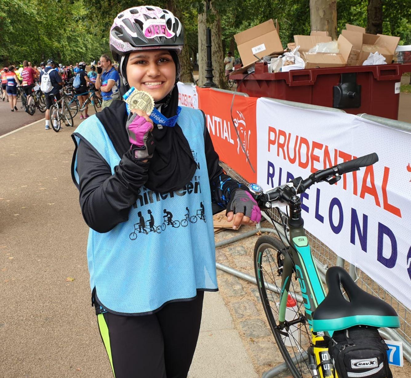 How I got into cycling – Shahina Chandoo