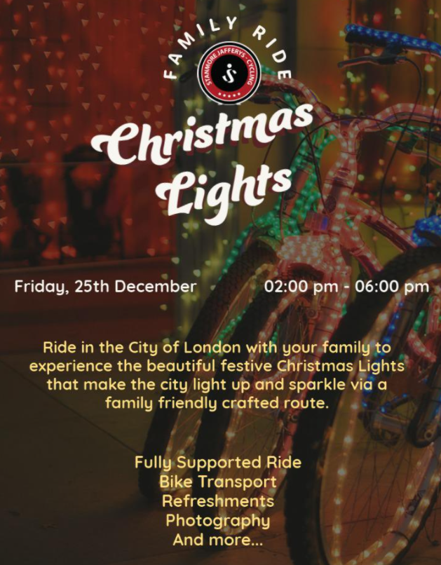 SJ Cycling Christmas Lights Family Ride Update