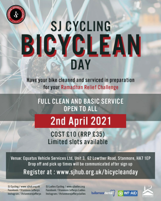 Bicyclean Day – 2nd April 2021