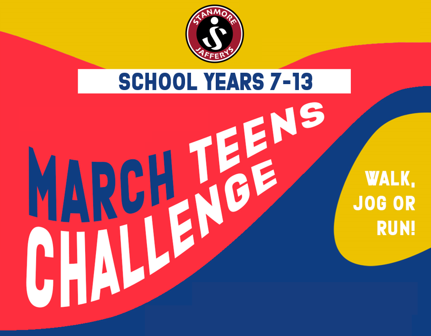 March Teens Challenge Wrap Up